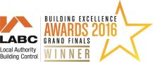 LABC Building Excellence Awards 2016 - Grand Finals
